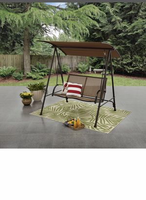 Two person canopy porch swing for Sale in Scottsdale, AZ