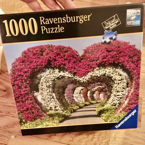 Puzzle By Ravensbirger , 1000 Pieces ❤️ For Valentines for Sale in Fairfax, VA