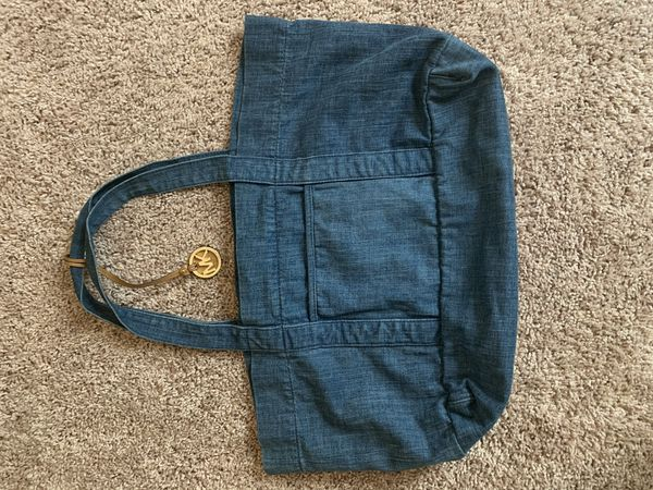 Micheal Kors Denim Hand Bag