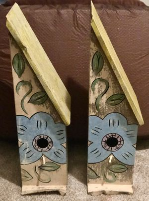 Hand painted birdhouses:) for Sale in Memphis, TN