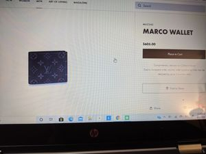 Like New Condition Black Monogram Louis Vuitton Wallet Retails $605 for Sale in Irvine, CA