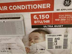 BEST DEAL IN TOWN!! Brand new 6150 BTU GE is ultra quiet motor high end window ac air conditioner. $340 at store!! for Sale in Glendale, AZ