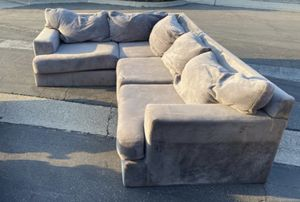 Sectional couch/ couch set for Sale in Whittier, CA