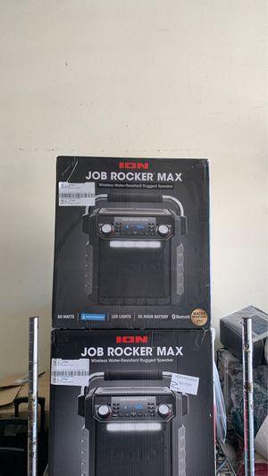 Ion Job Rocket Max Rugged Speaker wireless 50 watts for Sale in La Puente, CA