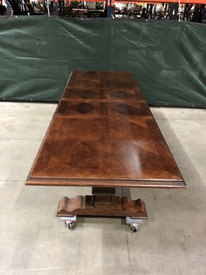 Wood extending Dining Table for Sale in Fall City, WA