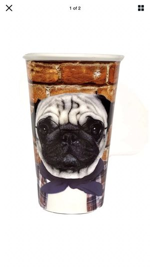 Pug Collectible Porcelain Drinking Glass - Dog for Sale in San Diego, CA