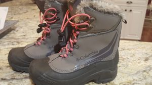 Girls Columbia brand snow boots for Sale in Battle Ground, WA