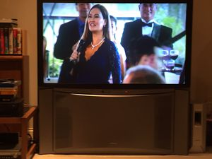 Hitachi 50in rear projection HD TV. Like new very little usage. for Sale in Galloway, OH