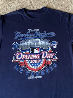 2 New 2009 Yankees Opening Day Tees Large for Sale in Douglasville,  GA