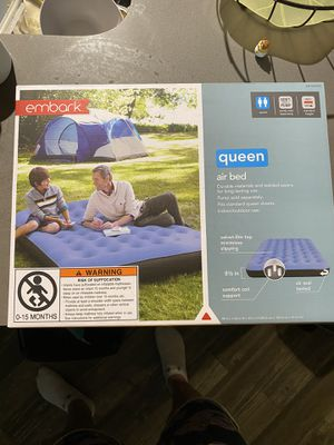 Unopened Queen size air up mattress $35 for Sale in Benbrook, TX