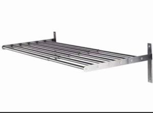 Grundtal Pot Holder Shelf Rack, Wall Rail Stainless Steel; Adjustable for Sale in Washington, DC