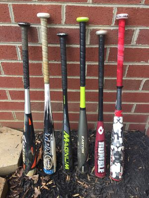 Aluminum little league bats for Sale in North Chesterfield, VA