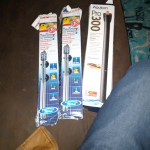 Aquarium Heaters All 3 For 40$ for Sale in Fresno, CA