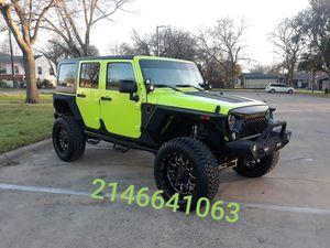 2016 jeep wrangler for Sale in Dallas, TX