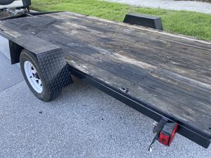 13ft x 6ft Utility Flatbed Trailer- Heavy Duty for Sale in St. Petersburg, FL