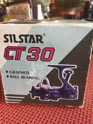 Silstar CT 30 Graphite Reel, New for Sale in Chicago, IL