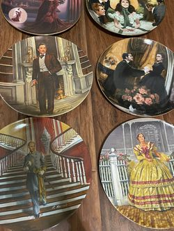 Gone With The wind Collectors Plates for Sale in Garland,  TX