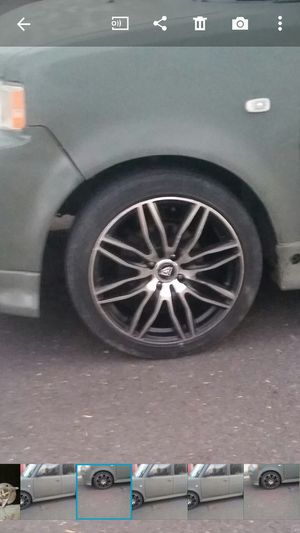 """17 """" White Dimond wheels for Sale in Los Angeles, CA"""