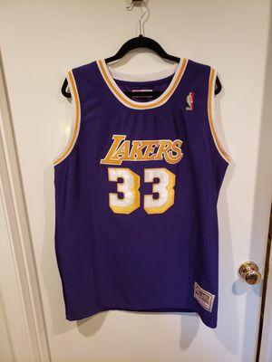 Classic Mitchell & Ness Purple & Gold Kareem Abdul- Jabbar NBA Jersey - XL for Sale in Auburn, WA