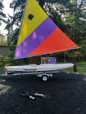 Phantom / sunfish sailboat (the trailer is sold) for Sale in Brush Prairie, WA