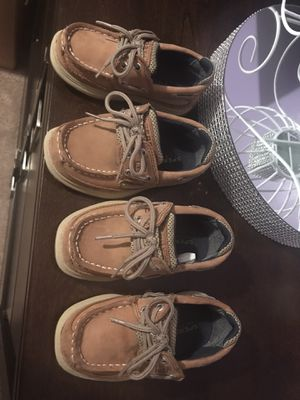Zapatos Sperry niño size 7 for Sale in Haines City, FL