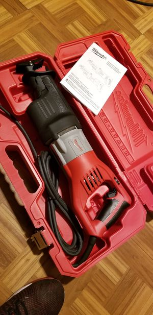 Milwaukee SUPER Sawzall 15AMPS for Sale in Norwalk, CA