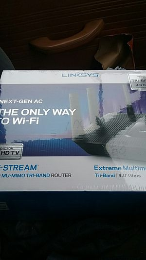 Linksys ac4000 triband router for Sale in Portland, OR