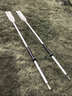 Old School Aluminum Boat Oars for Sale in Lynnwood, WA