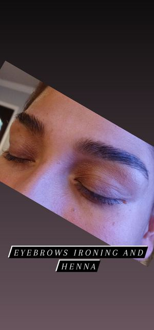 Eyebrows ironing and henna for Sale in Houston, TX