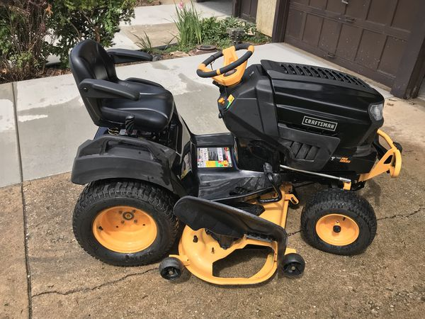 """Craftsman ProSeries 27055 54"""" Lawn Tractor for Sale in St  Louis, MO -  OfferUp"""