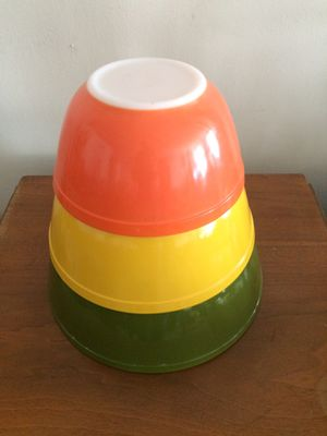 Vintage Pyrex Primary Colors Nesting Bowls for Sale in Santa Monica, CA