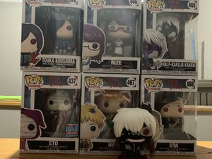 Tokyo ghoul pop figures for Sale in LAUREL PARK, WV