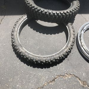 Dirt bike tires for Sale in Spring Valley, CA