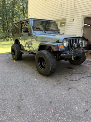 98 Jeep Wrangler for Sale in Yalesville, CT