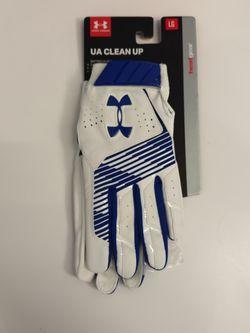 Under Armor Men's Cleanup Batting Gloves Size Large for Sale in San Diego,  CA