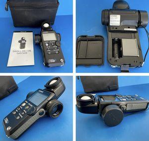 SEKONIC L 558R DualMaster Digital Light Meter w Case for Sale in Redlands, CA