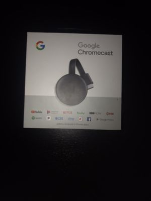 Google chromecast for Sale in Graham, WA