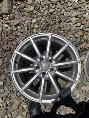 Audi 2013-16 A4 10 spoke OEM wheels 18 - $700 for Sale in El Cerrito, CA
