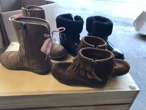 Girls size 9 boots for Sale in Garland, TX