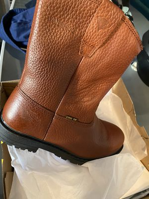 Size 9 men work boots for Sale in Bakersfield, CA