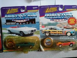 Collectable Toys Johnny lightning muscle car and dragster for Sale in Stone Mountain, GA