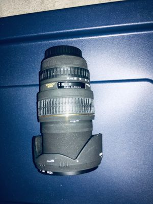 Sigma zoom lens for Sale in Coronado, CA