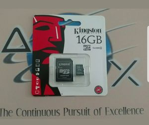 16GB Kingston micro sd card for Sale in Glendale Heights, IL