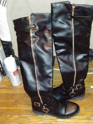 black thigh high boots for Sale in Antioch, CA