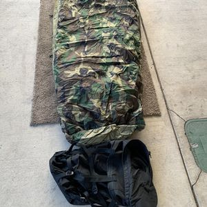 4 Piece Modular Sleep System MSS USGI Army Military Sleeping Bag Bivy for Sale in Rancho Cucamonga, CA