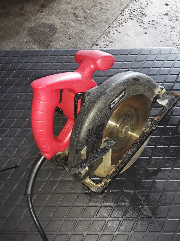 ELECTRIC TOOL SHOP CIRCULAR SAW..WORKS GOOD