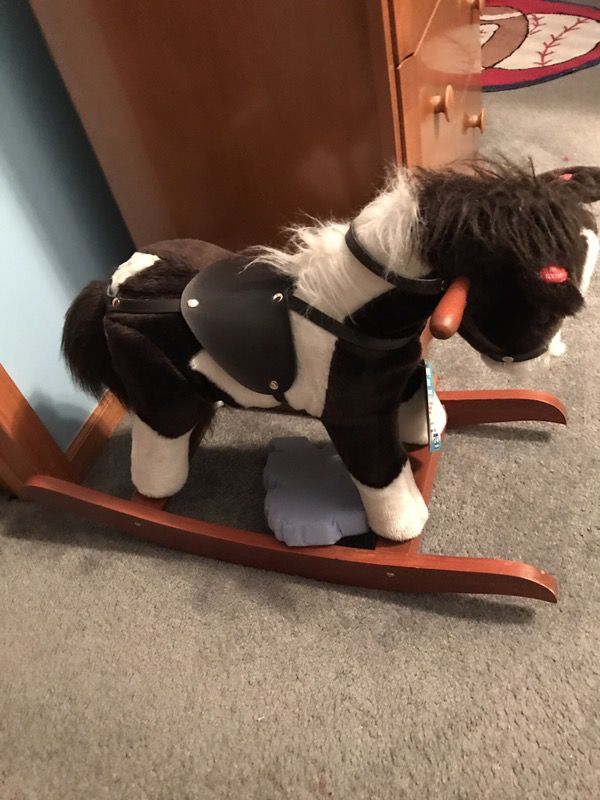 Kids New Rocking Hoarse Makes Horse Sounds Stilll With