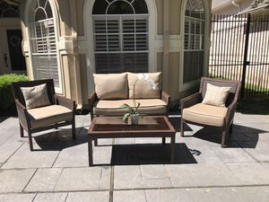 Patio Furniture-4 piece set for Sale in Spring, TX