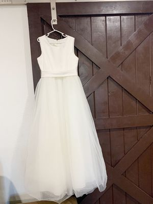 Girls- FLOWER GIRL DRESS - Size 12 for Sale in Lynwood, CA