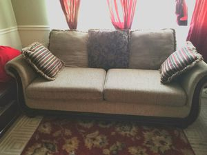 Sofa/Couch. TV stand, side stool for Sale in NEW CARROLLTN, MD